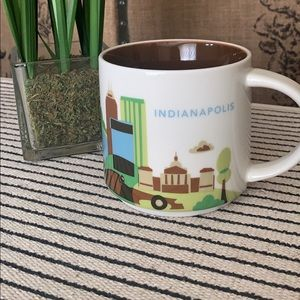 Starbucks You are here series mug Indianapolis